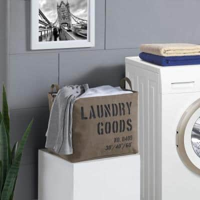 Army Canvas Laundry Basket