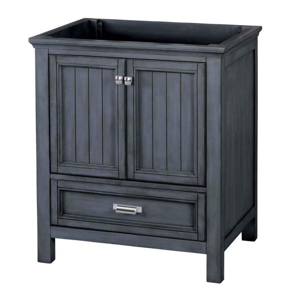 Foremost Brantley 30 In W X 21 1 2 In D Bath Vanity Cabinet Only In Harbor Blue Babv3022d The Home Depot
