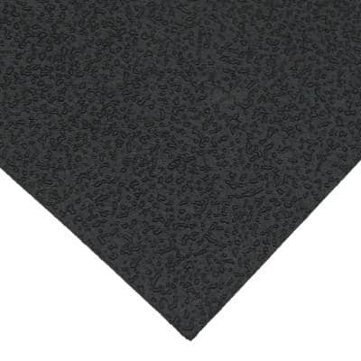 X-Derm 1/16 in. x 48 in. x 96 in. 60A Textured Recycled Rubber Sheet
