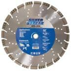 New Laser Welded All Cut Blade for Arbor Size 1 in. – 20mm, Max RPM 5460, Segment Height 10 mm