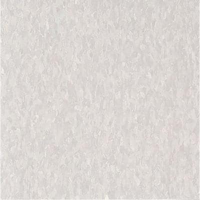 Imperial Texture VCT 12 in. x 12 in. Soft Warm Gray Standard Excelon Commercial Vinyl Tile (45 sq. ft. / case)