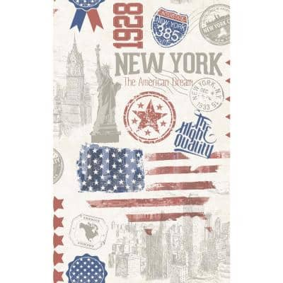 26 in. x 78 in. Brooklyn Self-adhesive Vinyl Film for Furniture and Door Decoration