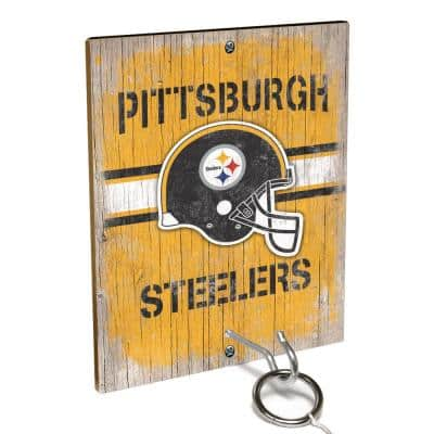 NFL - Pittsburgh Steelers Hook and Ring Toss Game