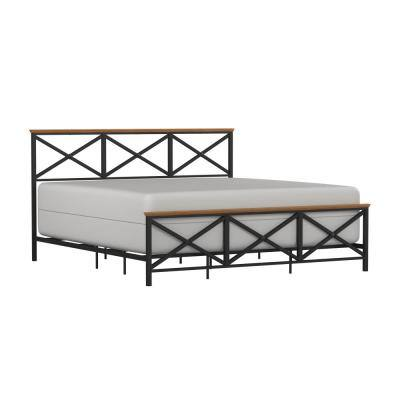 Ashford Black King Bed