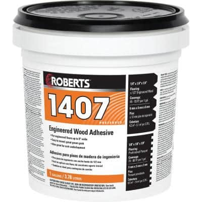 1407 1 Gal. Engineered Wood Flooring Adhesive