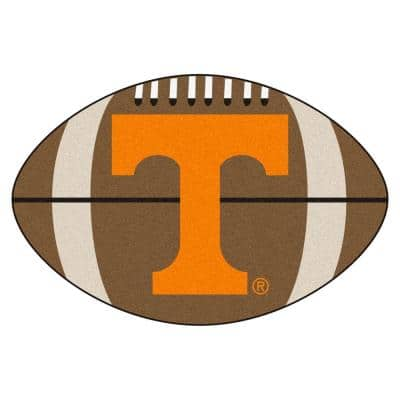 NCAA University of Tennessee Brown 2 ft. x 3 ft. Specialty Area Rug