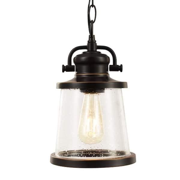 Globe Electric Charlie 1 Light Oil, Globe Electric Outdoor Pendant Light