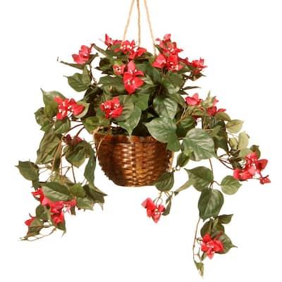 13 in. Hanging Flower in Pot