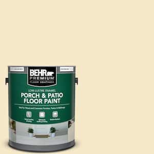 1 gal. #M320-2 Rice Wine Low-Lustre Enamel Interior/Exterior Porch and Patio Floor Paint