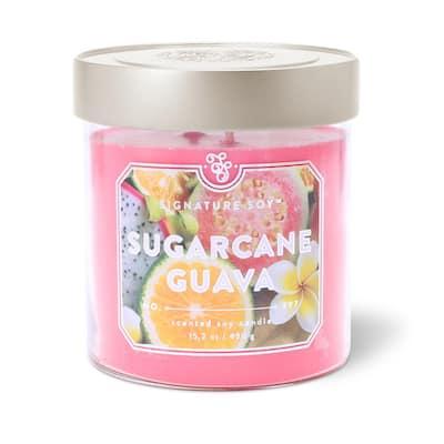15.2 oz. Sugarcane Guava Scented Candle
