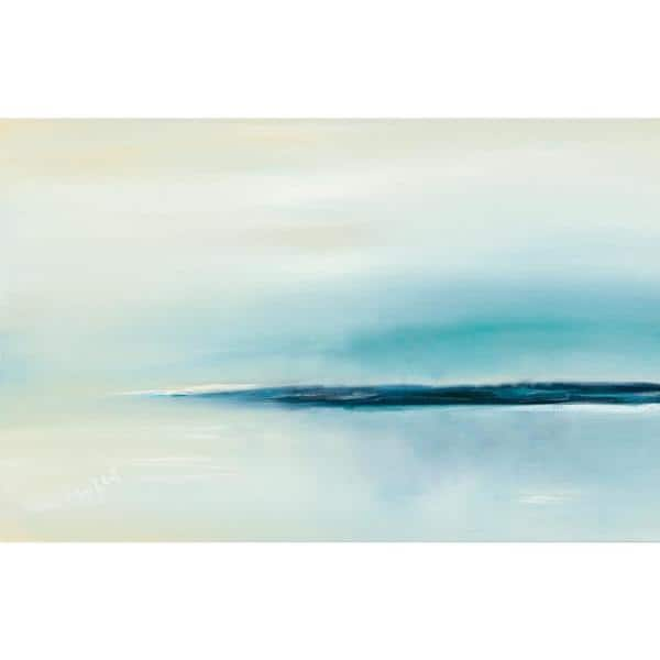 Clicart 54 In X 84 In Stillness By Michele Gort Printed Framed Canvas Wall Art Gor 128k9 The Home Depot