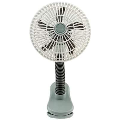 4 in. Clip on Stroller Fan, Battery Operated Clip on Personal Fan, Battery Stroller Fan, Clip Fan and Outdoor Fan