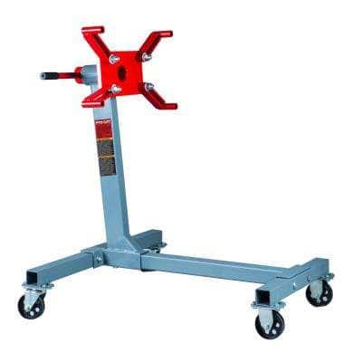 1000 lbs. Engine Stand 360-Degree Rotating Head Motor Mount 8-Positions Steel Automotive Shop Equipment