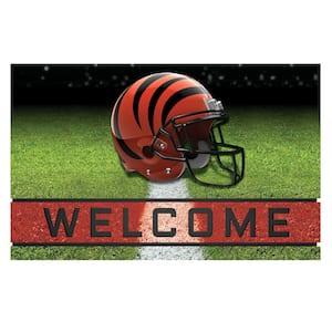 NFL - Cincinnati Bengals 18 in. x 30 in. Rubber Door Mat