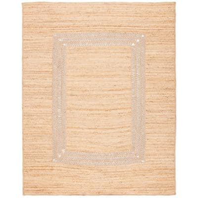 Natural Fiber Beige 8 ft. x 10 ft. Area Rug