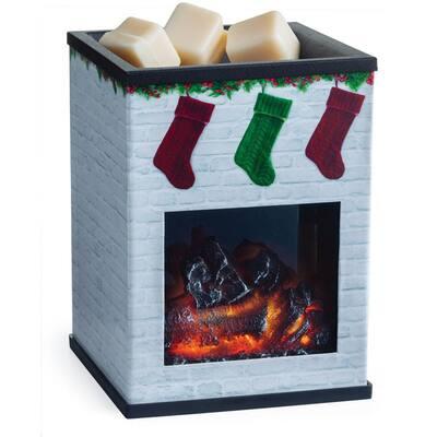 Holiday Fireplace Illumination Fragrance Warmer