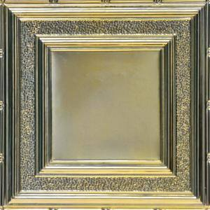 County Cork 2 ft. x 2 ft. Lay-in Tin Ceiling Tiles in Gold Nugget (48 sq. ft. / box)