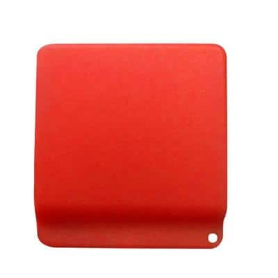 Hard Hat Pencil Clip in Red