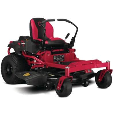 Mustang 50 in. 23 HP V-Twin Kohler 7000 Series Engine Dual Hydrostatic Drive Gas Zero Turn Riding Lawn Mower