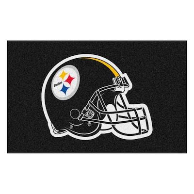 NFL - Pittsburgh Steelers Helmet Rug - 5ft. x 8ft.
