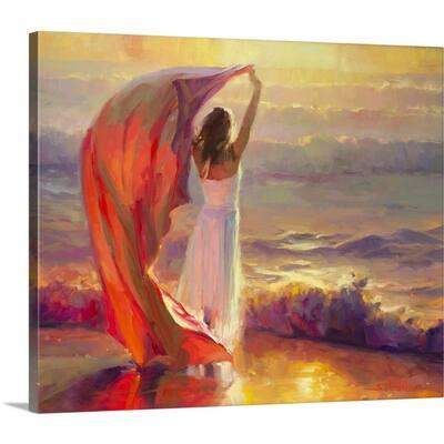 """""""Ocean Breeze"""" by Steve Henderson Canvas Wall Art"""