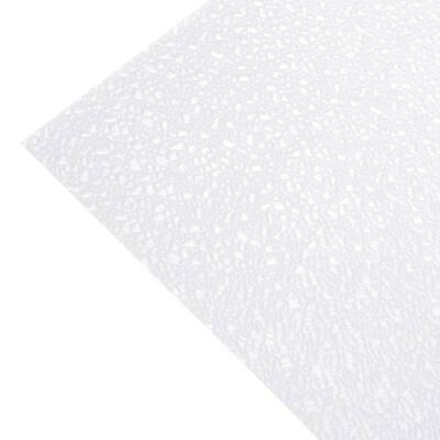 2 ft. x 4 ft. Acrylic White Cracked Ice Lighting Panel (5-Pack)