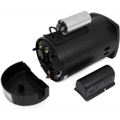 1 HP Single-Speed Swimming Replacement Pool Pump Motor Frame, Dual Voltage 115-Volt/230-Volt