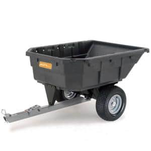 15 cu. ft. 1000 lb. Capacity Poly Swivel Dump Cart