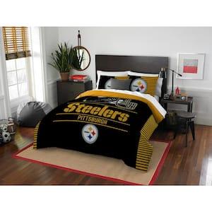 Steelers 3-Piece Multicolored Full Comforter Set