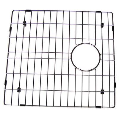 17 in. x 15.5 in. Bottom Sink Grid in Stainless Steel
