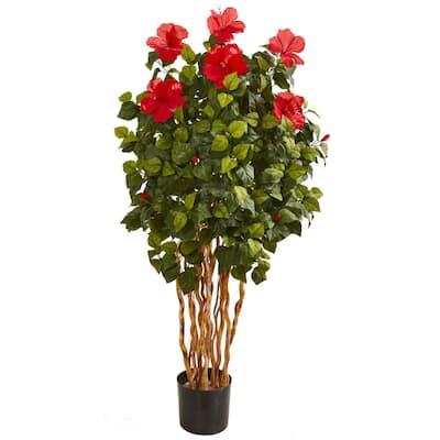 5 ft. Hibiscus Artificial Tree