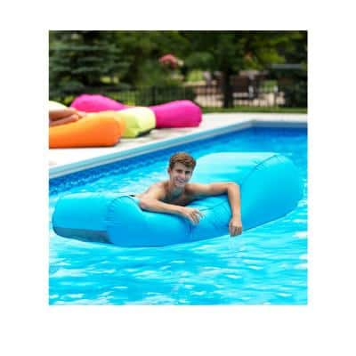 Capri Inflatable Lounger in Turquoise