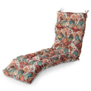 22 in. x 72 in. Asbury Park Outdoor Chaise Lounge Cushion