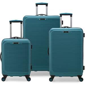 Elite Luggae Sunshine 3-Piece Teal Hardside Spinner Luggage Set