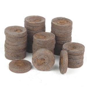 42 mm PEAT Wilmer Worm's Seed Starting Pellets (36-Pack)