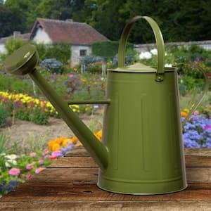 Garden Accents 17 in. Green Metal Watering Can