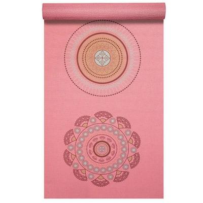 Satya 72 in. L x 24 in. W x 3/16 in. T Inspired Design Print Yoga Mat Non Slip (12 sq. ft.)
