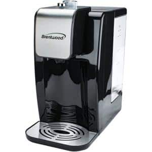 9.2-Cup Black Single-Touch Instant Hot Water Dispenser