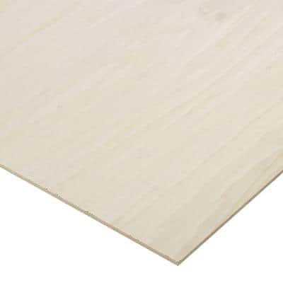 1/4 in. x 4 ft. x 4 ft. PureBond Poplar Plywood Project Panel (Free Custom Cut Available)