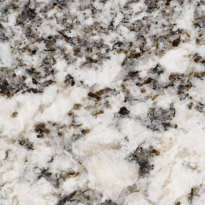 3 in. x 3 in. Granite Countertop Sample in Chesapeake Blue