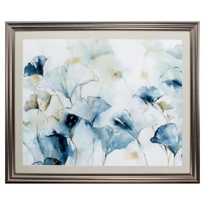 """""""Glorious Ginko"""" Framed Wall Art 30 in. x 36 in."""