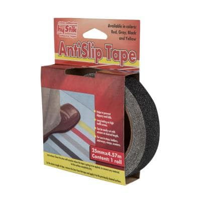 770 1 in. x 5 yds. Black Anti-Slip Tape (1-Roll)
