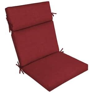 21 x 20 Ruby Leala Texture Outdoor Dining Chair Cushion