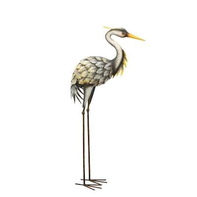 Large Grey Heron - Looking Down
