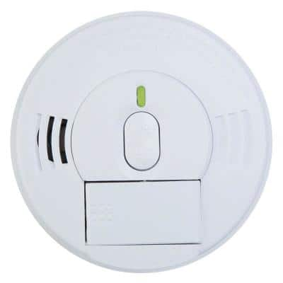 Firex Hardwired Smoke Detector with Adapters, 9-Volt Battery Backup, and Front Load Battery Door