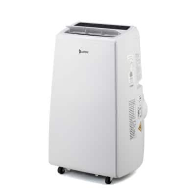13000 BTU Portable Air Conditioner with Heating and Dehumidifying Modes in White