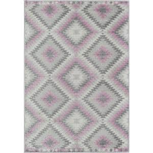 Bodrum Taffy Gray 8 ft. x 10 ft. Area Rug