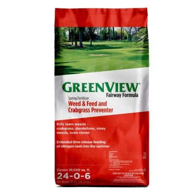 36 lb. Fairway Formula Spring Fertilizer Weed and Feed and Crabgrass Preventer