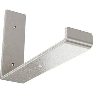 2 in. x 6 1/2 in. x 10 in. Stainless Steel Steel Hanging Shelf Bracket