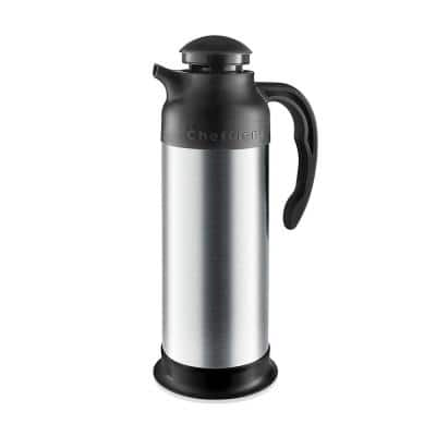 33 oz. Stainless Steel Thermal Carafe with Milk Server